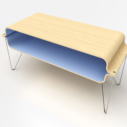 Bent Plywood - Bent Plywood Table