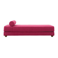 Stay Chaise/Sofa Bed, Violet Felt