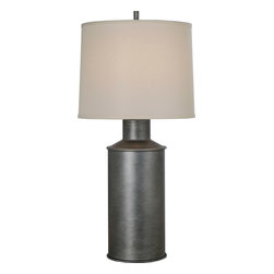 Trend Lighting - Trend Lighting TT7230-66 Chivalry 1 Light Table Lamps in Hand Painted Weathered - This 1 light Table Lamp from the Chivalry collection by Trend Lighting will enhance your home with a perfect mix of form and function. The features include a Hand Painted Weathered Pewter finish applied by experts. This item qualifies for free shipping!