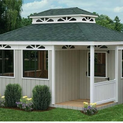Fifthroom - Dura-Temp Rectangle Cabanas -