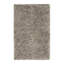 Surya - Surya Savanah Plush Hand Woven Wool Rug X-85-0093NVS - Combining felted wool with stand wool the Savannah Collection Shag provides a plush shag with a multi-tonal color palette.