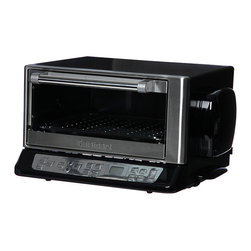 Cuisinart - Cuisinart CTO-395PCFR Chrome Convection Toaster Oven (Refurbished) - Complete you kitchen with this convection toaster oven from Cuisinart. This toaster oven can be set to bake,broil or toast and the interior is easy to clean.