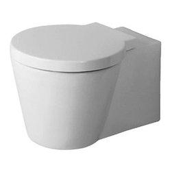Duravit - Duravit - Toilet wall-mounted Starck 1 white, WonderGliss -02100900641 - Washdown Model
