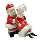 ATD - 4 Inch Santa Claus Holding Mrs. Claus Xmas Salt and Pepper Shakers - This gorgeous 4 Inch Santa Claus Holding Mrs. Claus Xmas Salt and Pepper Shakers has the finest details and highest quality you will find anywhere! 4 Inch Santa Claus Holding Mrs. Claus Xmas Salt and Pepper Shakers is truly remarkable.