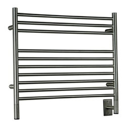 Amba - Amba | Jeeves K Straight Towel Warmer - Made in South Africa by Amba.A part of the Jeeves Collection. The Jeeves K Straight Towel Warmer functions remarkably as a convenient towel heater for the modern bathroom or as a space heater for any room in your home. The simple to use design with ideally spaced bars ensure this towel warmer offers space for both thick and thin towels. The convenient design is specifically designed to artfully house multiple towels at one time. Select from a variety of finishes to complete your bath space. Product Features: