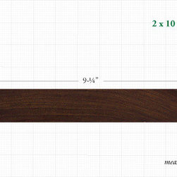 "Advantage Ipe™ Hardwood Decking - $61.88-$395.28/ Net ""Finished"" Dimension: 1 1/2"" x 9 1/4""/"