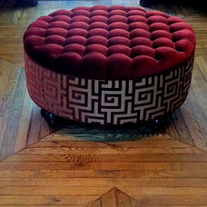 Contemporary Ottomans And Cubes by Endgrain Architecture