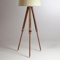 Telescope Floor Lamp Base | World Market