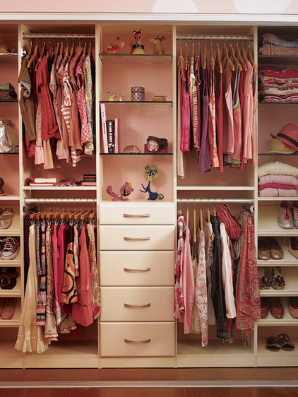 Contemporary Kids Dressers And Armoires by California Closets