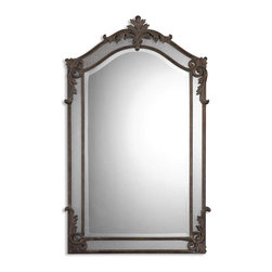 Uttermost - Uttermost 08045 B Alvita Medium Metal Mirror - Uttermost 08045 B Alvita Medium Metal Mirror