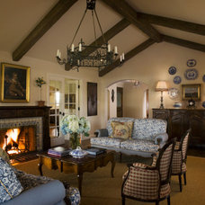 Traditional Living Room by Jona Collins Interior Design