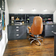 Contemporary Home Office by Euro Design/Build/Remodel