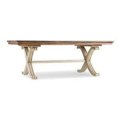 Rectangle Dining Table, Dune and Amber Sands