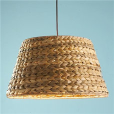 Braided Seagrass Shade Pendant Light - Shades of Light