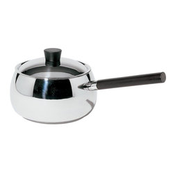 "Alessi - Alessi ""Mami"" Bourguignonne Casserole - A chef like yourself needs the proper cookware to make a French winter delight like beef bourguignon. This attractive casserole dish has a long handle and heat diffusing bottom to help you cook in style."