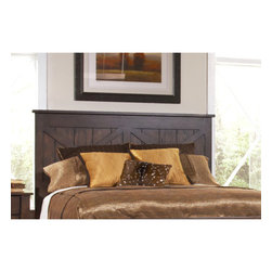 "Riverside Furniture - Windridge Full / Queen Panel Headboard - Features: -Windridge collection. -Hardwood solid and ash veneer construction. Dimensions: -56"" H x 65.75"" W x 3.5"" D, 101 lbs."