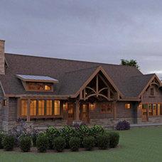 Mountain Cottage Design House Plan - 3183