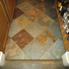 Mediterranean Floor Tiles by Custom Homes by Miller