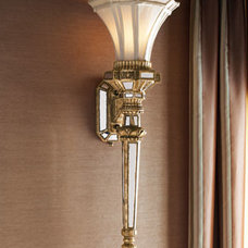 John-Richard Collection Fluted Wall Torch - Horchow