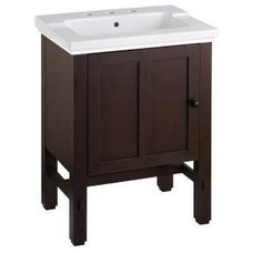 Contemporary Bathroom Vanities And Sink Consoles by Build.com
