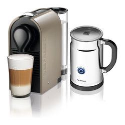 Nespresso U C50 Pure Grey/Aero+ Bundle