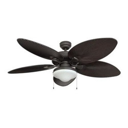 Sahara Fans - Outdoor Fan: Sahara Fans Tortola 52 in. Outdoor Bronze Ceiling Fan 10061 - Shop for Lighting & Fans at The Home Depot. Add cooling tropical breezes and island styling to your outdoor living area with this 52 in. fan and light combo. Tortola's rich bronze finish is complemented by the 5 extra-large medium brown faux palm blades and a low profile light. The fan is ETL rated for outdoor installation, and is backed by a lifetime motor warranty.