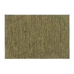 Uttermost - Uttermost Jessore 8 x 10 Rug - Green 70016-8 - Hand Knotted Jute In Heavily Washed Green And Browns With A Cut And Loop Pile.