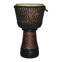 X8 Drums - X8 Drums King Cheetah Elite Pro Djembe Drum - X8-E-PRO-CHT-S - Shop for Toy Instruments from Hayneedle.com! The X8 Drums King Cheetah Elite Pro Djembe Drum delivers the best in djembe construction in a drum that's ready to travel at a moment's notice. Additionally the drum has an incredible range so your child will enjoy a real safari of beats. About X8 DrumsX8 Drums truly walks to the beat of their own drum. This family-owned company is committed to providing the best selection of high-quality musical instruments with an emphasis on world music percussion instruments. X8 Drums has certainly helped champion ethnic hand drums in the digital age thanks to its founders - a New York City rocker and an internet sage.