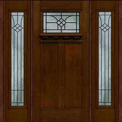 """Prehung Side lights Door 80 Fiberglass Cantania Craftsman GBG Glass - SKU#MFC63DCWCA_DFCRCA1-2BrandGlassCraftDoor TypeExteriorManufacturer CollectionCraftsman DoorsDoor ModelCantaniaDoor MaterialFiberglassWoodgrainVeneerPrice4750Door Size Options36"""" + 2( 14"""")[5'-4""""]  $036"""" + 2( 12"""")[5'-0""""]  $0Core TypeDoor StyleCraftsmanDoor Lite StyleDoor Panel Style2 PanelHome Style MatchingCraftsmanDoor ConstructionPrehanging OptionsPrehungPrehung ConfigurationDoor with Two SidelitesDoor Thickness (Inches)1.75Glass Thickness (Inches)Glass TypeDouble GlazedGlass CamingGlass FeaturesTempered glassGlass StyleGlass TextureGlass ObscurityDoor FeaturesDoor ApprovalsEnergy Star , TCEQ , Wind-load Rated , AMD , NFRC-IG , IRC , NFRC-Safety GlassDoor FinishesDoor AccessoriesWeight (lbs)527Crating Size25"""" (w)x 108"""" (l)x 52"""" (h)Lead TimeSlab Doors: 7 Business DaysPrehung:14 Business DaysPrefinished, PreHung:21 Business DaysWarrantyFive (5) years limited warranty for the Fiberglass FinishThree (3) years limited warranty for MasterGrain Door Panel"""