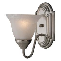 Maxim Lighting - Maxim Lighting 8011 Essentials Wall Sconce - 1 Bulb, Bulb Type: 100 Watt Incandescent
