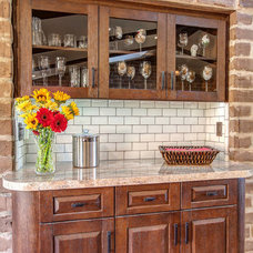 Rustic Kitchen by Hamilton-Gray Design, Inc.