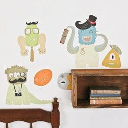 Love Mae - On Sale Makin' Monsters Fabric Wall Decals - Makin' Monsters Fabric Wall Decals