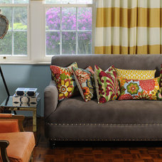Eclectic Living Room by Design Pretty