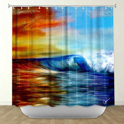 Shower Curtains - Add some fun and flair to your bathroom with stylish and artistic bathroom accessories from DiaNoche Designs. Rest assured, all of your friends won't have the same items for once! Made from 100% woven polyester, each item is soft and durable using Dye Sublimation to adhere the ink to each piece for many years to come.