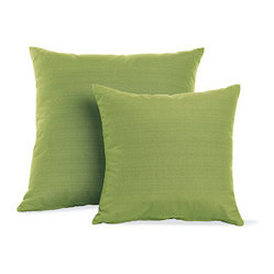 Outdoor Pillows in Rove Maharam Fabric
