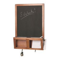 Sanna Dahlman - Luns Writing/Magnetic Board - I love the idea of a chalkboard for taking down notes — even though it's messy.