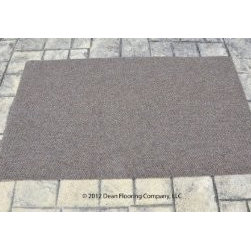 Dean Flooring Company - Dean Indoor/Outdoor Walk-Off Entrance Carpet Door Mat/Rug - Beige Sand - 4' x 6' - Dean Indoor/Outdoor Walk-Off Entrance Carpet Door Mat/Rug - Beige Sand - 4' x 6' : Dean Indoor/Outdoor Walk-Off Entrance Door Mat/Rug by Dean Flooring Company. Color: Beige Sand Face: 100% Hi UV stabilized polypropylene fiber. Backing: All weather non-skid latex rubber. Edges: Will not ravel or delaminate. Size: 4'x6'. Fade resistant Commercial or residential. Easy to clean (hose off, sweep, vacuum). Made in the USA! Add a touch of warmth and style to your home today with entrance mats from Dean Flooring Company!