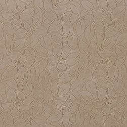 Beige Leaves Microfiber Upholstery Fabric By The Yard - This microfiber upholstery fabrics is great for all residential, contract, hospitality and automotive purposes. Our microfiber fabrics are stain resistant, heavy duty and machine washable. This pattern is non-directional.