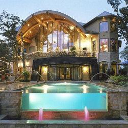 Glass Wall Pool -