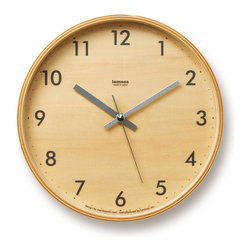 Minimalist Plywood Clock - Time is of the essence, but so is good design. The Minimalist Plywood Clock reminds you to stay on top of appointments in high, minimalist style. Made from durable plywood with Seiko�s silent hand sweep movement.