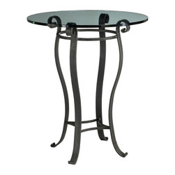 "Camino 36"" Round Pub Table (Bar Height) by Charleston Forge - Dimensions:"