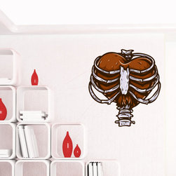 Heart Vinyl Wall Decal HeartUScolor023; 72 in. - Vinyl Wall Decals are an awesome way to bring a room to life!