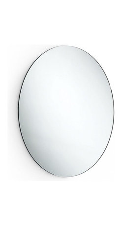 "WS Bath Collections - Speci 5632 Mirror with Stainless Steel Frame 23.2"" - Speci 5632 Mirror with Stainless Steel Frame"