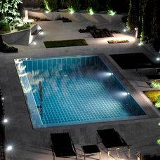 Modern Pool by Sergio Olazabal