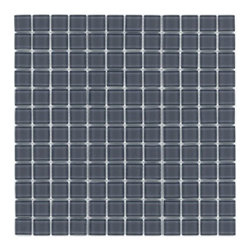 """Crayola - Decorative Glass Mosaics Artic Grey 12"""" x 12"""" - This collection is 's translation of all the vibrancy and happiness of the world now available in 18 blends and 42 solid colors. The 1'x1' glass mosaic sheets can be used for indoor and outdoor applications."""