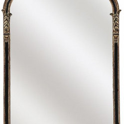 Paragon Gold Black Gold Napolean Mirror
