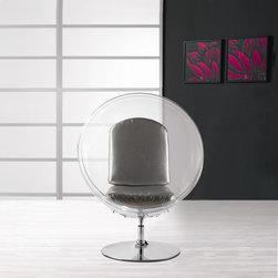 Eero Aarnio Style Ball Acrylic Chair - In Style Modern