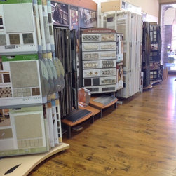 Our Hard Surfaces Showroom - Heritage Carpet and Tile