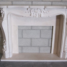 Traditional Fireplaces by GHY stone