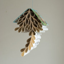 Bookmobile, Dog of Flanders by Shophouse - This book is a whimsical and dreamy mobile to hang above a cozy reading nook.